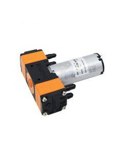 KLP02 12v 24v DC double head mini diaphragm pump 1400ml/min